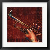 Jazz III Framed Print