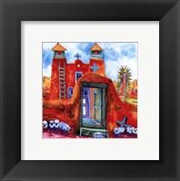 Framed Guadalupe