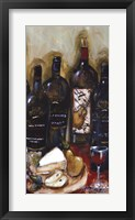 Wine Tasting Panel III Framed Print