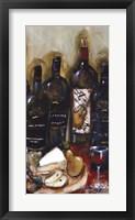 Framed Wine Tasting Panel III