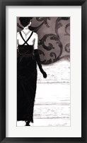 Backtracking Audrey Framed Print