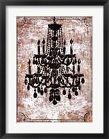 Framed Vintage Chandelier II