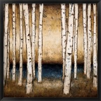 Framed Birch Landing