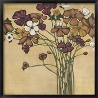 Framed Wandering Bouquet