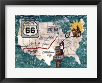 Retro Roadtrip II Framed Print