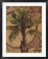 Decorative Palm I Framed Print