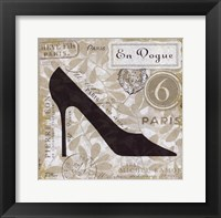 Chaussures I Framed Print