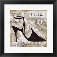 Chaussures II Framed Print
