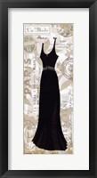 Robe Noir II Framed Print