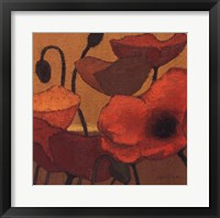 Poppy Curry II Framed Print