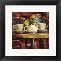Parisian Cafe II Framed Print