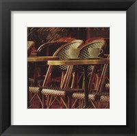 Parisian Cafe IV Framed Print