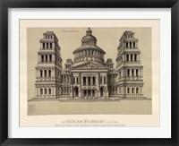 Framed Portail de Temple, (The Vatican Collection)