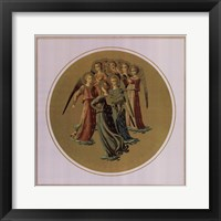 Framed Angels Playing Musical Instruments, (The Vatican Collection)