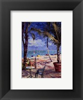 Framed Cafe Du Soleil