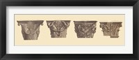 Framed Capitals II, (The Vatican Collection)