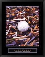 Framed Character - Golf Tees