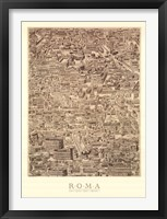 Framed Antique Urbis Imago I, (The Vatican Collection)