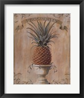 Framed Pineapple Prosperity