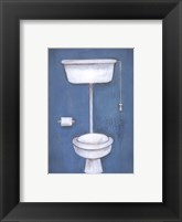 Framed Toilet