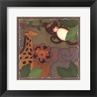 Jungle Friends Framed Print
