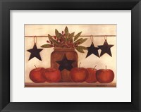 Framed Star Apples