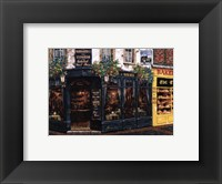 Framed London Pub