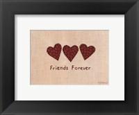 Friends Forever Framed Print