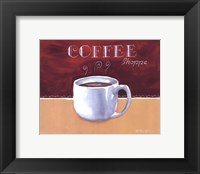 Coffee Shoppe Framed Print