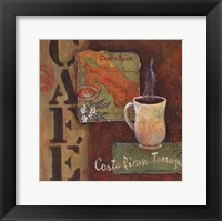 Coffees of the World - Costa Rica Framed Print