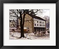 Framed Winter Reverence