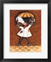 Vin Chef Framed Print