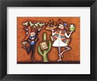 Crazy Caf? Framed Print
