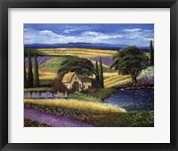 Framed Vineyard Home