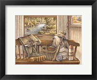 Framed Fishing Gear