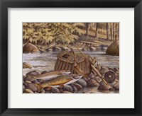 Fresh Catch Framed Print