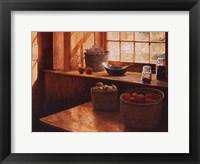 Framed Baskets Of Vegetables