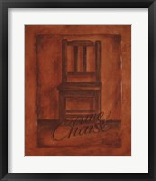 Une Chaise Framed Print