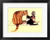 Framed Cat Food