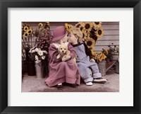 Framed Sweet Pals