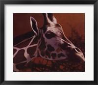 Framed Giraffe Grande
