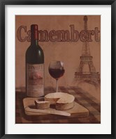 Camembert Framed Print