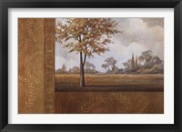 Golden Autumn I Framed Print