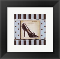 Shopping I - special Framed Print