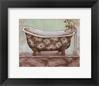 Framed Tropical Bath II - mini