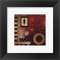 Radius I - petite Framed Print