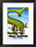 Framed Shrek Forever After - style C