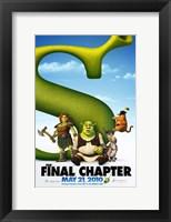 Framed Shrek Forever After - style C