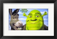 Framed Shrek Forever After - style A