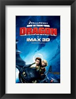 Framed How to Train Your Dragon - style C